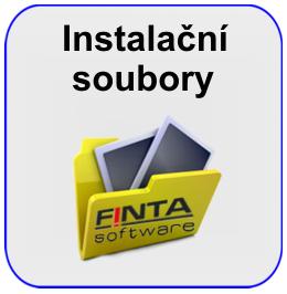 Instalační soubory FINTA